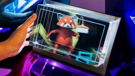 Spektakularne możliwości holograficznego ekranu 3D o rozdzielczości 8K [FILM]