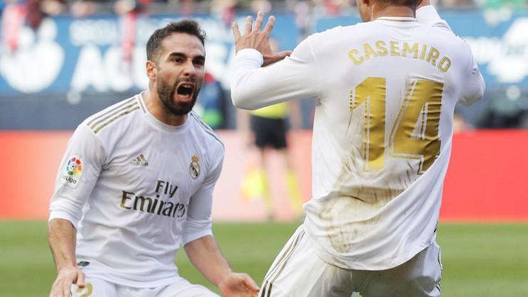 Kolejne trzy punkty Realu. Królewscy znów uciekli Barcelonie