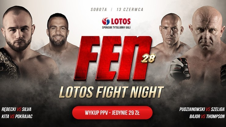 FEN 28: LOTOS Fight Night. Premiera w Polsacie Sport