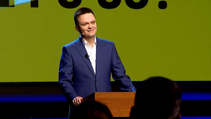 Zobacz, jak Szymon Hołownia ogłosił start w wyborach prezydenckich