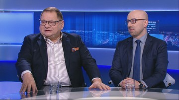 Łapiński: gdyby Tusk kandydował na prezydenta, to tak jakby Lewandowski wrócił do Lecha Poznań