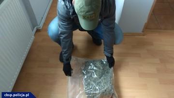 Przewoził marihuanę wartą 2,4 mln zł. Miał fałszywe dokumenty, był poszukiwany