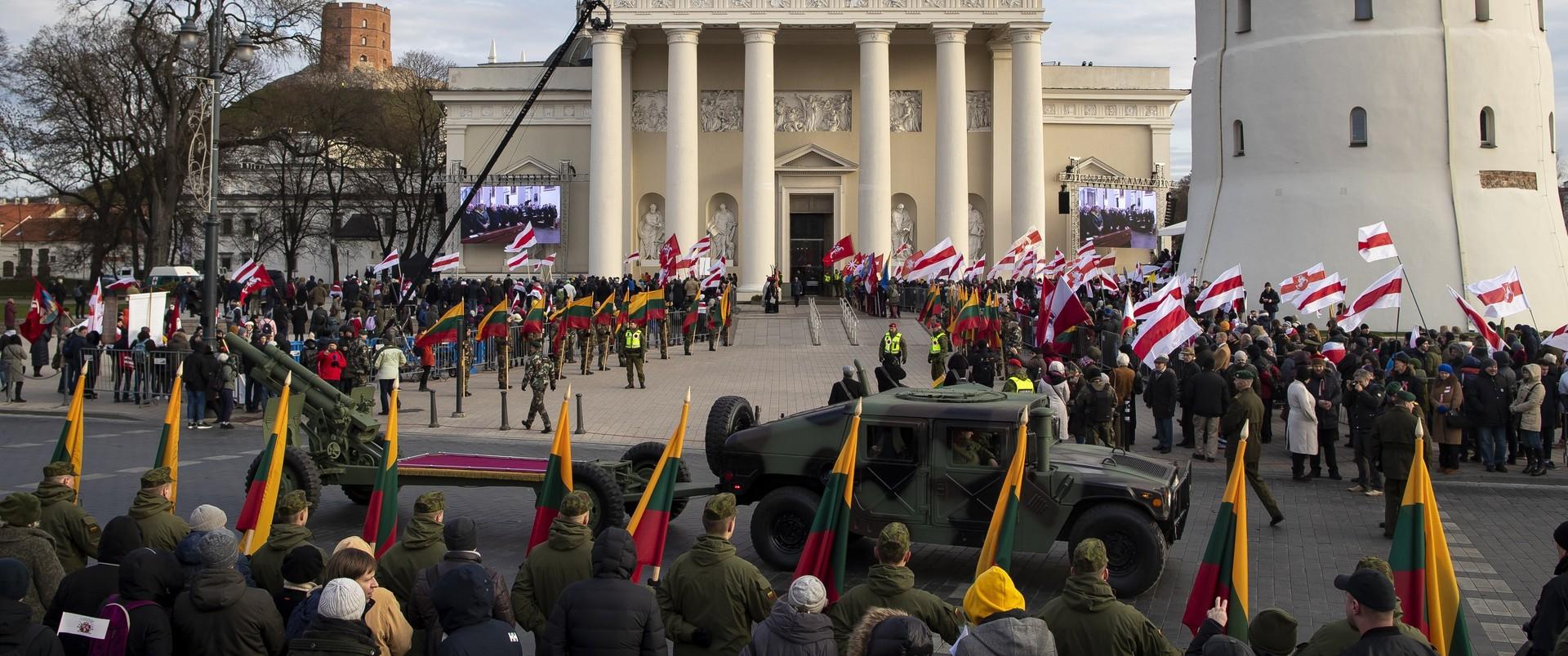 Pogrzeb Konstantego Kalinowskiego w Wilnie