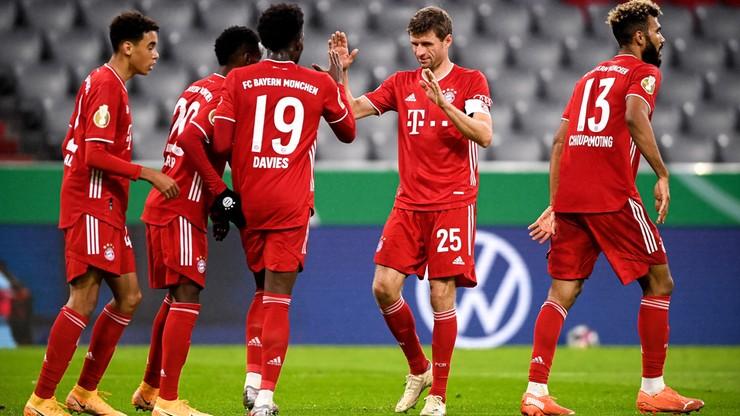 Puchar Niemiec: Bayern grał bez Lewandowskiego, ale jest w 2. rundzie