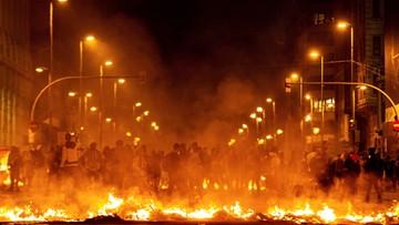 Kilkadziesiąt kolejnych ofiar starcia separatystów z policją w Katalonii