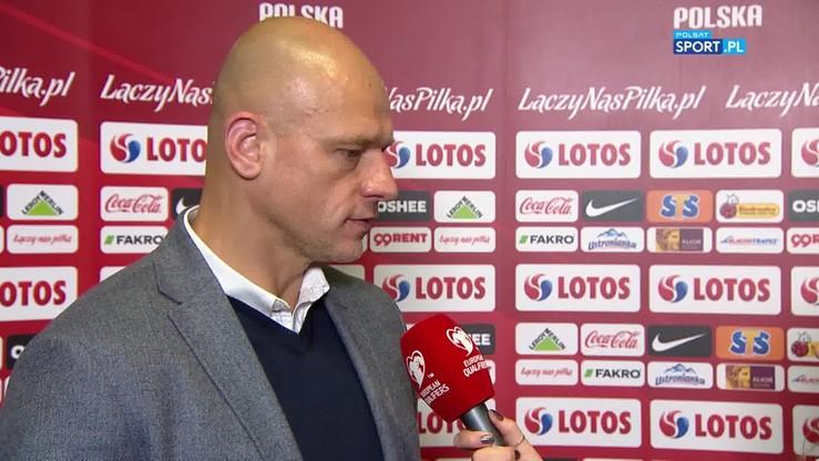 2019-10-14 Kowalewski: Reakcja naszych zawodników na murawę nie była najlepsza