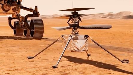 Dron z misją na Marsie. Jeśli się sprawdzi, NASA planuje inwazję [FILM]