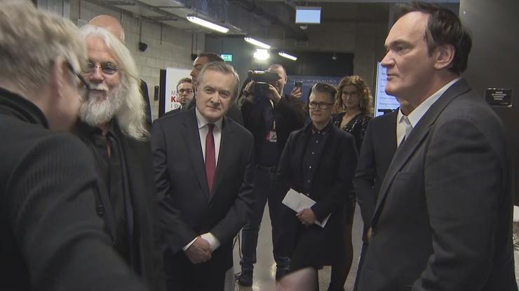 Minister kultury spotkał się z Quentinem Tarantino. Była tam nasza kamera