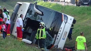 Wypadek polskiego autokaru na Węgrzech. Postępowanie prowadzi polska prokuratura
