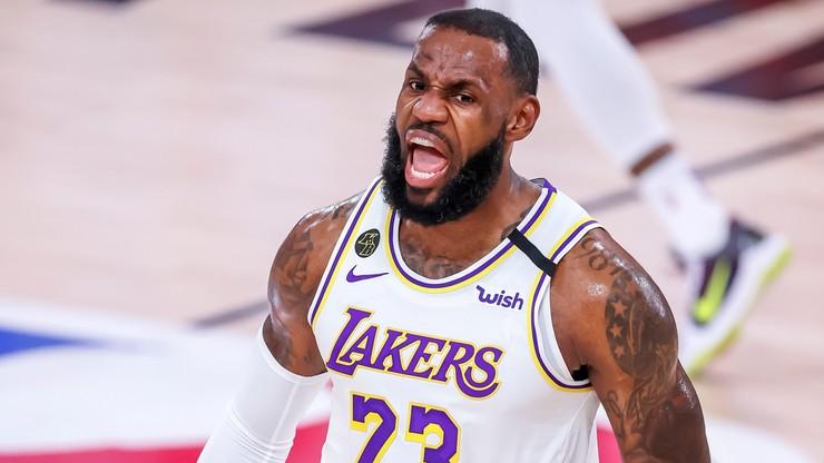 NBA: James i Antetokounmpo jednogłośnie w najlepszej piątce sezonu