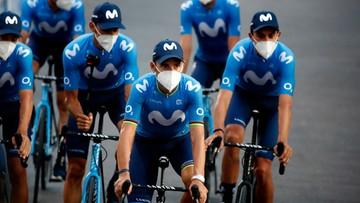 Tour de France: Wykluczenie po dwóch przypadkach koronawirusa w całej ekipie