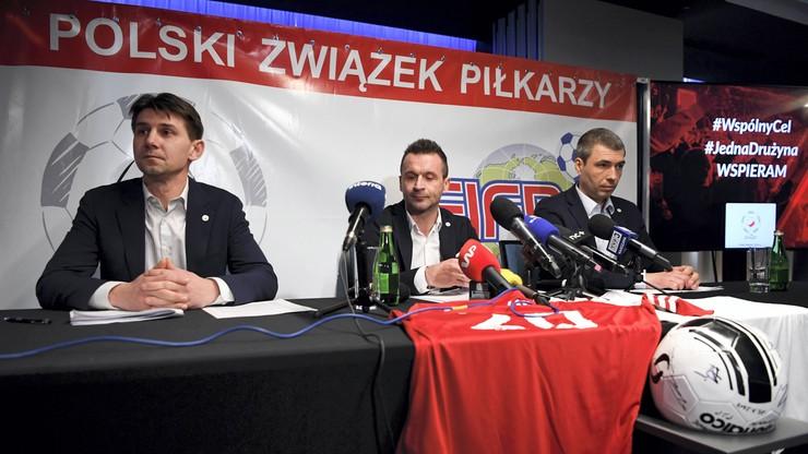 Polski Związek Piłkarzy apeluje o zawieszenie rozgrywek