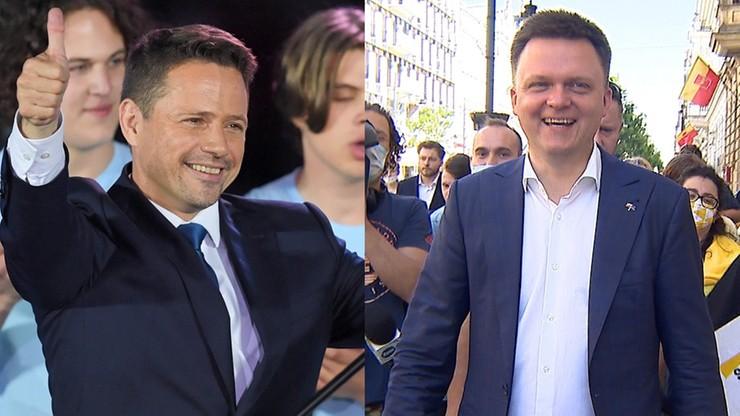 Sondaże: Hołownia wchodzi do Sejmu, Trzaskowski liderem opozycji