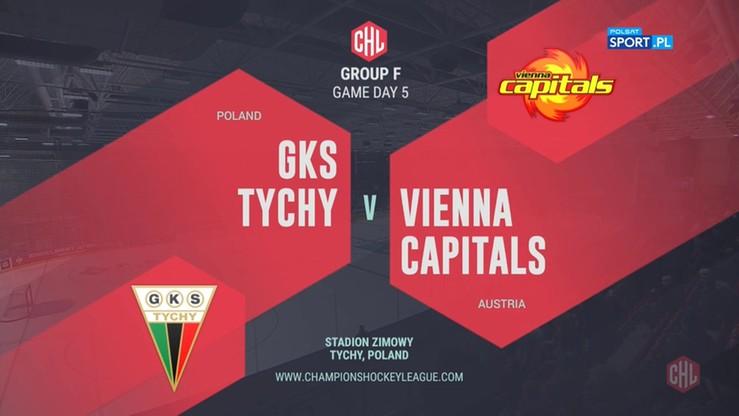 GKS Tychy - Vienna Capitals 4:2. Skrót meczu