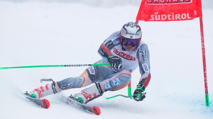Alpejski PŚ: Kristoffersen wygrał slalom gigant w Alta Badia