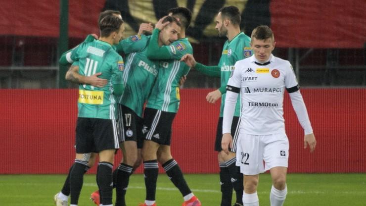 Fortuna Puchar Polski: Legia lepsza od Widzewa