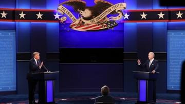 Wyzwiska i personalne ataki. Pierwsza debata prezydencka w USA