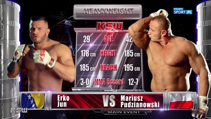 Mariusz Pudzianowski - Erko Jun. Skrót walki