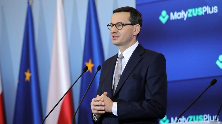Morawiecki o likwidacji 30-krotności składek ZUS: do konsultacji
