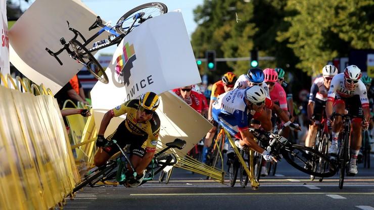 Niemiecki kolarz o kraksie na Tour de Pologne: Co roku ten sam głupi finisz w Katowicach