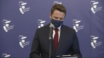 Trzaskowski: jeśli chodzi o personel, wszędzie mamy problemy