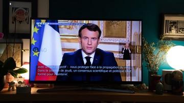 Orędzie Macrona. Francja zamyka granice i wprowadza kwarantannę