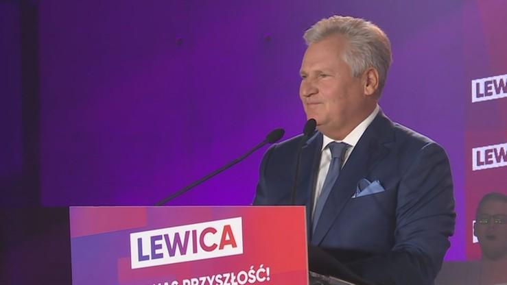 """""""Wróćcie do lewicy, zaufajcie tym ludziom"""". Kwaśniewski do swoich wyborców z 1995 i 2000 roku"""