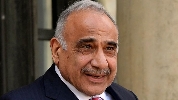 Premier Iraku złożył dymisję. O jego przyszłości zdecyduje parlament