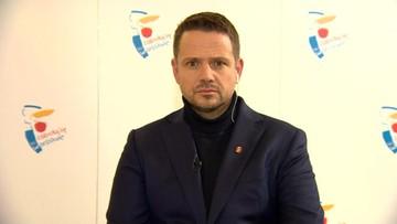 """""""Rozumiem te emocje"""". Trzaskowski o proteście przed domem Kaczyńskiego"""