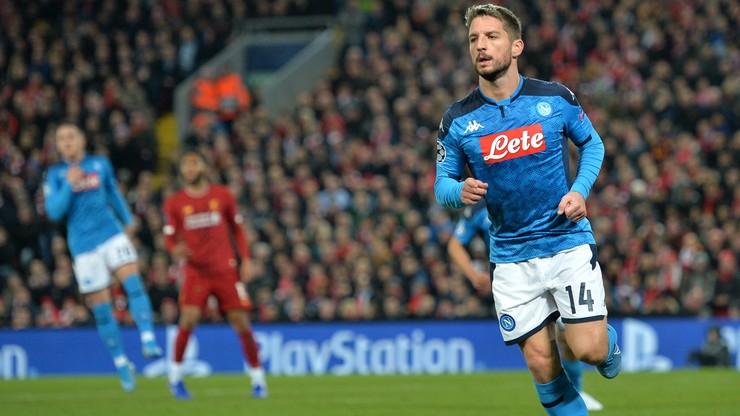 Liga Mistrzów: Remis w hitowym meczu Liverpoolu z Napoli