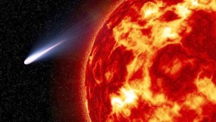 SOHO uwieczniło pierwszy w tym roku moment uderzenia komety w Słońce