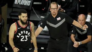 NBA: Broniący tytułu Toronto Raptors zmniejszyli stratę (WIDEO)