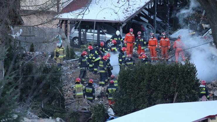Policja rozmawiała z pracownikami wykonującymi przewiert w Szczyrku. Widzieli wybuch