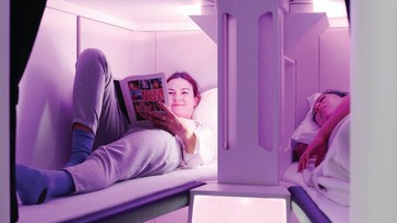 Kabiny sypialne w klasie ekonomicznej. Innowacyjny pomysł jednej z linii