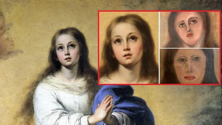 """Nieudana """"renowacja"""". Obraz słynnego malarza nie do poznania"""