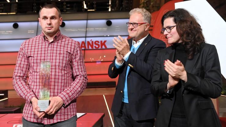 Zwolniony z łagru ukraiński reż. Oleg Sencow odebrał nagrodę Neptuna