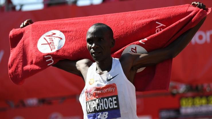 Maraton w Wiedniu: Kipchoge podejmie próbę zejścia poniżej dwóch godzin