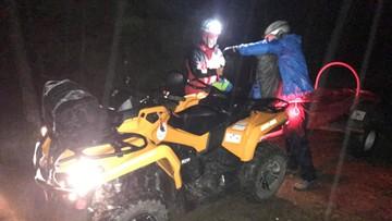 Atak zimy w Beskidach. GOPR sprowadziło 67-latkę z Szyndzielni i parę z Babiej Góry