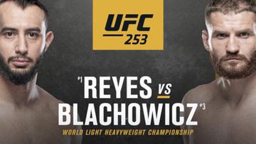 UFC 253: Jan Błachowicz - Dominick Reyes. Wyniki walk