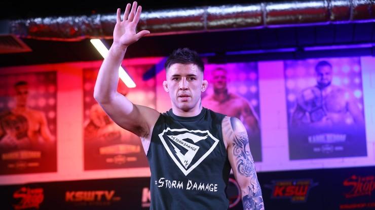 UFC: Norman Parke wypunktował debiutancką walkę Mateusza Gamrota