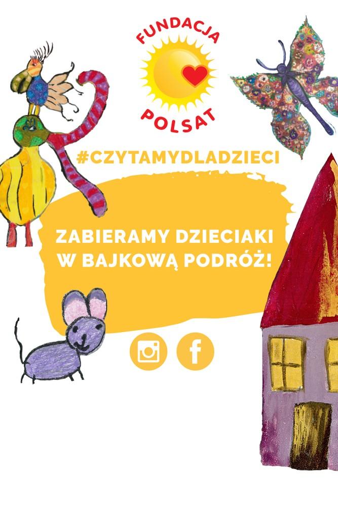 2020-04-07 #CzytamyDlaDzieci - bajkowa podróż z Fundacją Polsat - Polsat.pl