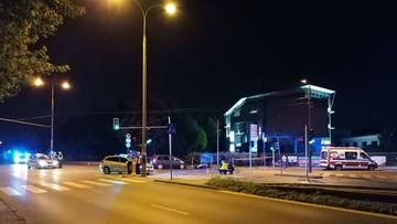 Zderzenie motocykla z oplem w Warszawie. Śmierć kierowcy jednośladu