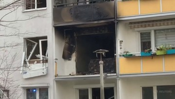 Wybuch w bloku w Niemczech. W mieszkaniu amunicja z czasów II wojny światowej