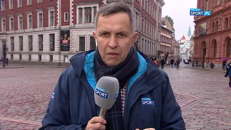 Kołtoń z Rygi przed meczem z Łotwą