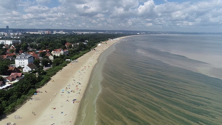 Sinice w Bałtyku. Kąpieliska ponownie otwarte