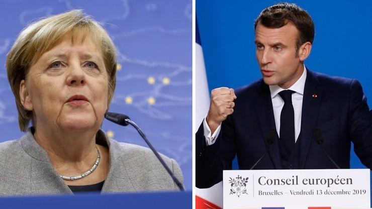 Macron ostrzega Polskę ws. neutralności klimatycznej. Merkel wyraża zrozumienie