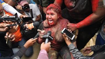 Lincz w Boliwii. Oblali farbą i obcięli włosy burmistrz miasta
