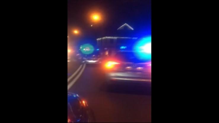 Zarzuty dla kierowcy uciekającego zakopianką przed policją