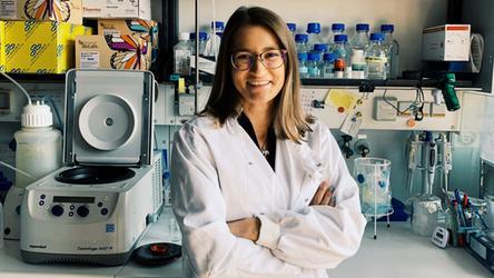 Ewelina Kamińska: Aktywna doktorantka promuje naukę!