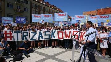 """Trzaskowski wzywa prezydenta do debaty. """"Proszę się nie bać prezesa"""""""